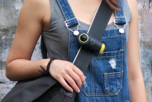 Tecnoneo: MySight360, cámara manos libres 4K VR 240 con lente ojo de pez