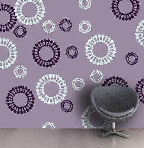 Captivating Flower Picture For Stencilling Ideas For A Little Girlu0027s Room, FS 13.  Stencils For WallsPainting ...