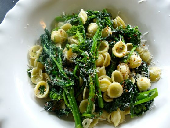 Broccoli Rabe with Orecchietti: A Classic Pasta Dish that Leans Healthy and Hearty