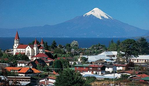 Visit the conical Osorno Volcano.