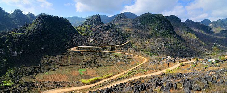 Dong Van Karst Geopark - Ha Giang. #vietnam #hagiang #dogvan #geopark #hills #travel #wander