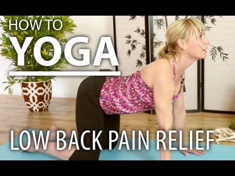 ▶ How To Yoga for Beginners - 8 Minute Lower Back Pain Relief Yoga Flow - YouTube