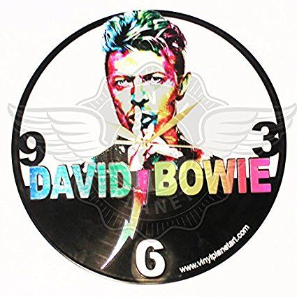 Vinyl Wall Clock DAVID BOWIE 5