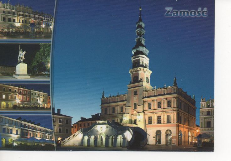 Zamosc Poland  city photos : Zamosc Poland   Postcards   Pinterest