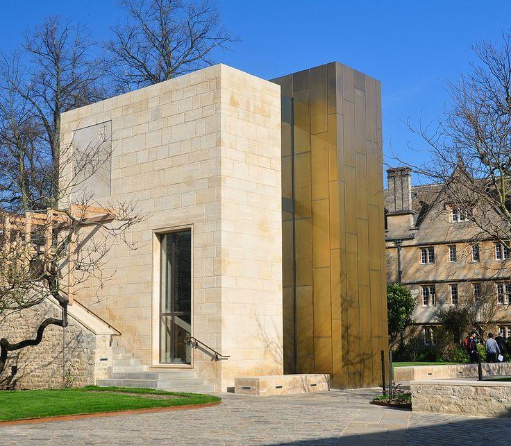 Wadham College Oxford_Exterior cladding