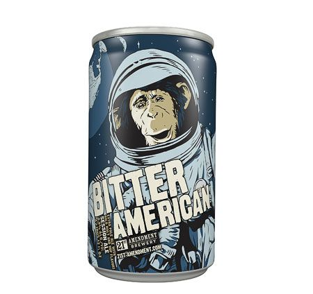 21st Amendment Bitter American Beer Can