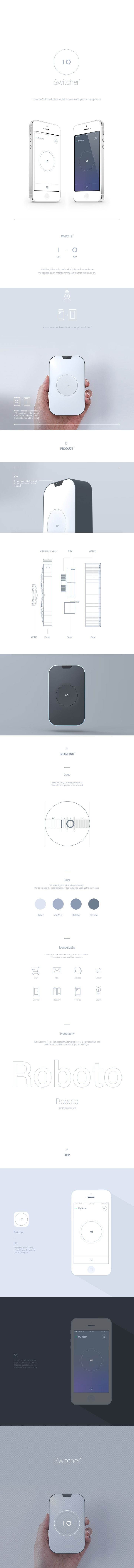 Product / Branding / UX Design for Switcher.