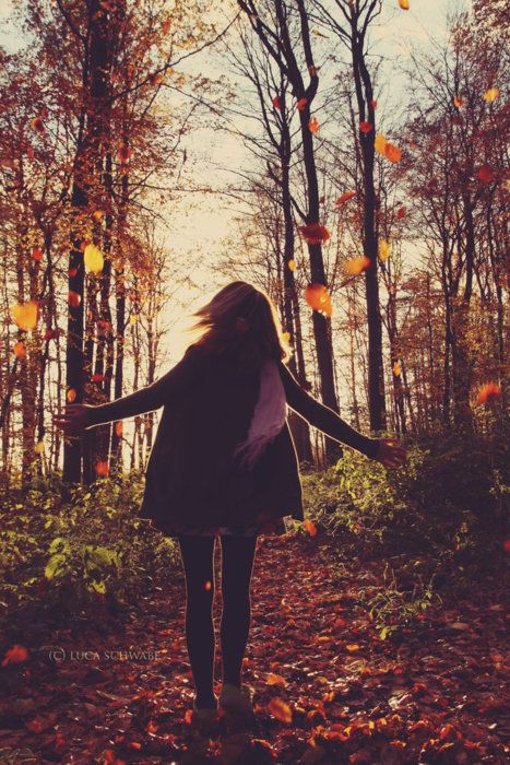 .: Autumn Leaves, Autumn Fall, Autumn Girl, Autumn Bliss, Forest, Fall Picture, Things, Falling Leaves