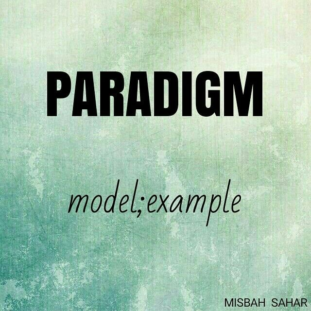 Paradigm Learn English Words English Words Vocabulary Words