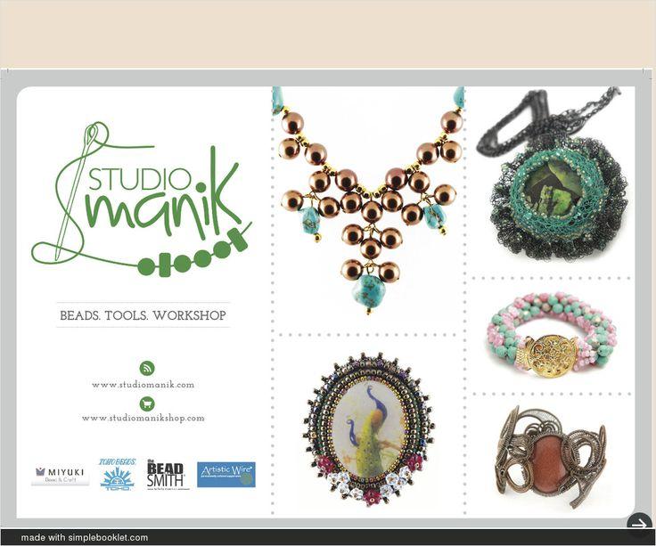 Kursus Studio Manik  Menu kursus dan workshop di Studio Manik Blok M Plaza & Alam Sutera - made with simplebooklet.com