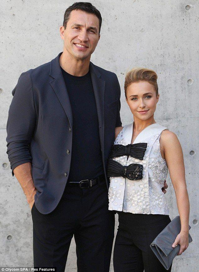 Hayden Panettiere Joins With Boyfriend Wladimir Klitschko at Milan Menswear Fashion Week
