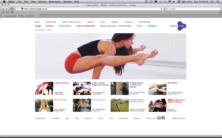 triyoga Homepage Mar10