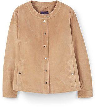 Womens camel croppedfitted j soho from Mango - £119.99 at ClothingByColour.com