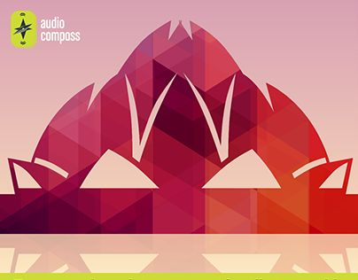 """Check out new work on my @Behance portfolio: """"AudioCompass_Lotus Temple Monument"""" http://be.net/gallery/33905844/AudioCompass_Lotus-Temple-Monument"""