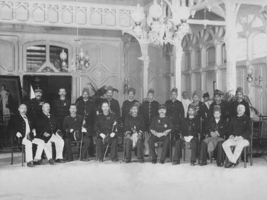 Onderwerping van pretendent sultan toeankoe Moehamed Dawot en panglima Polèm in 1903, hierdoor was het grote georganiseerde verzet gebroken
