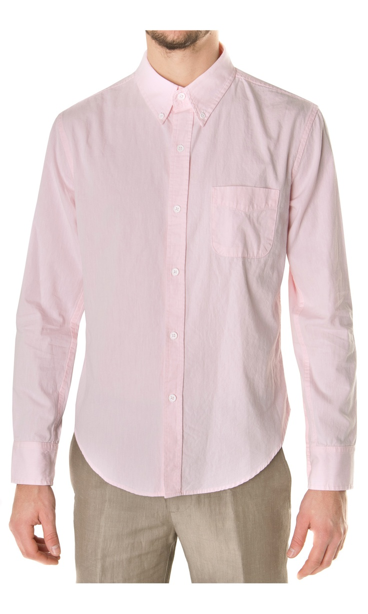 Band of Outsiders Buttoned Down Pont Collar Shirt