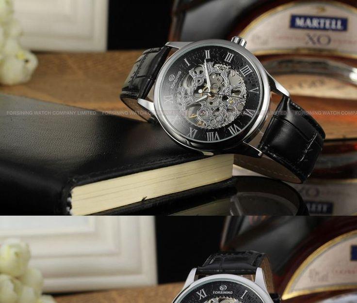 Forsining WatchForsining Watch Good Price Forsining Transparent Skeleton Automatic Mechanical military watches brand men-Forsining Watch Company Limited www.forsining.com