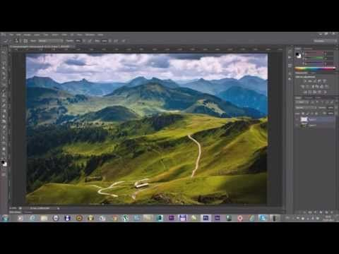 matte-paint in 3ds max - YouTube