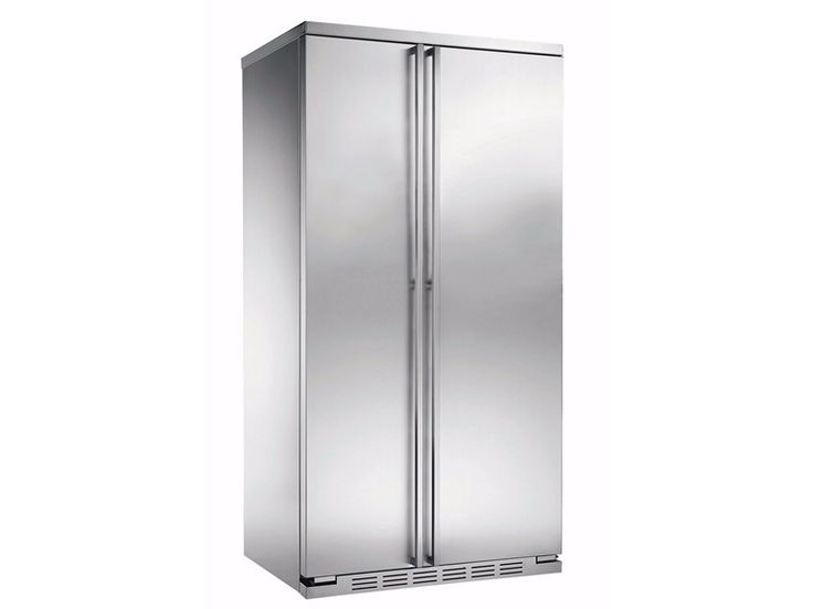 Frigorifero americano da incasso no frost in acciaio inox in stile moderno classe A  ORE 24 CBF WW TXE by mabe | Ge Partner Appliances