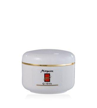 Morgana Q10- VS nappali vitalizáló krém  Kitűnő hidratáló hatású nappali krém, mely csökkenti a ráncok mélységét és a bőr vízhiányát. Rendkívül könnyen és maradék nélkül felszívódik.