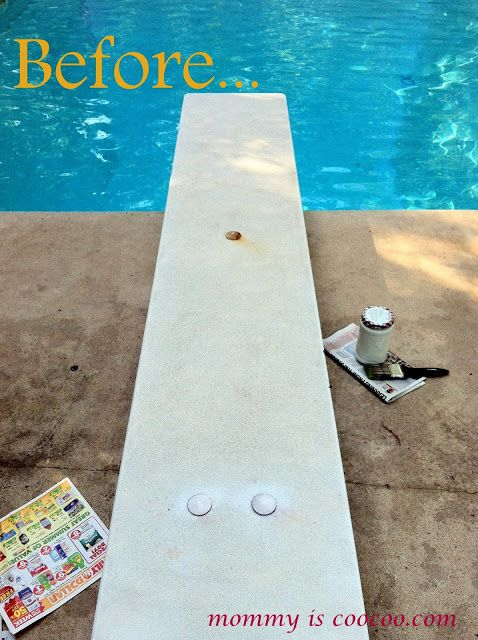 Best 25 diving board ideas on pinterest rectangle pool beach houses in galveston and for Swimming pool diving board paint kit