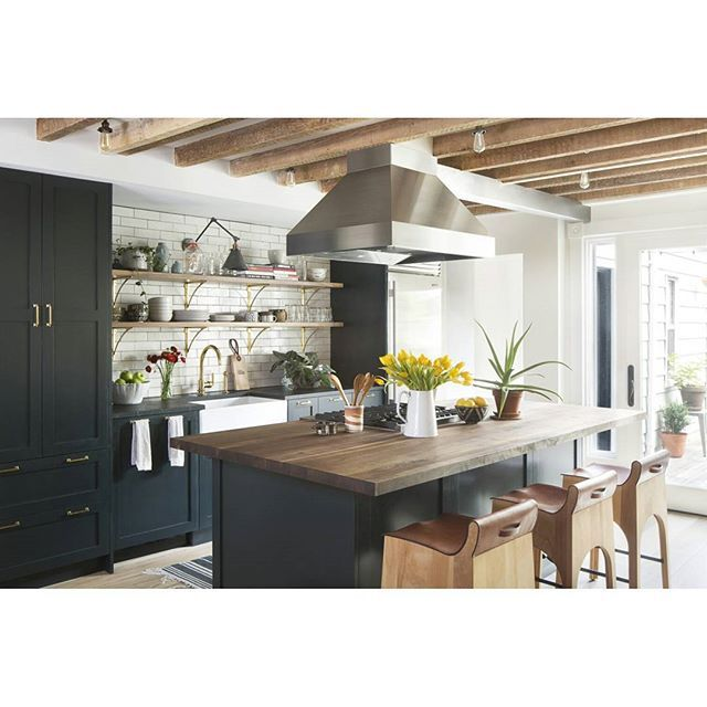 """DIY Shaker IKEA kitchen in Brooklyn, NY from earlier this year. Design by @a.jennisoninteriors and shot by @jessglynnphoto."" Photo taken by @semihandmade on Instagram, pinned via the InstaPin iOS App! http://www.instapinapp.com (12/17/2015)"