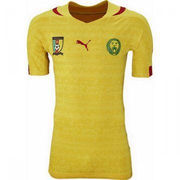 Camisetas del Camerun mundo 2014 Segunda  db331bf7b6979