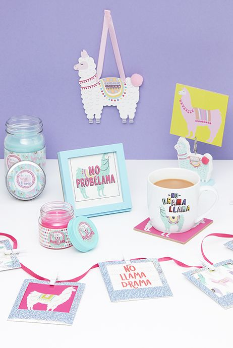 Primark 2017 llama homeware collection wishlist pinterest for Cute homeware accessories