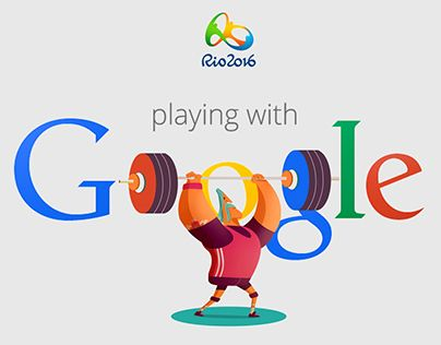 """Check out this @Behance project: """"Google doodles Rio 2016"""" https://www.behance.net/gallery/26576881/Google-doodles-Rio-2016"""