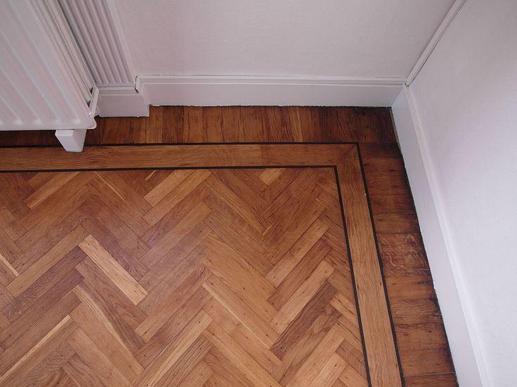 Renovatie visgraat vloer uit 1940