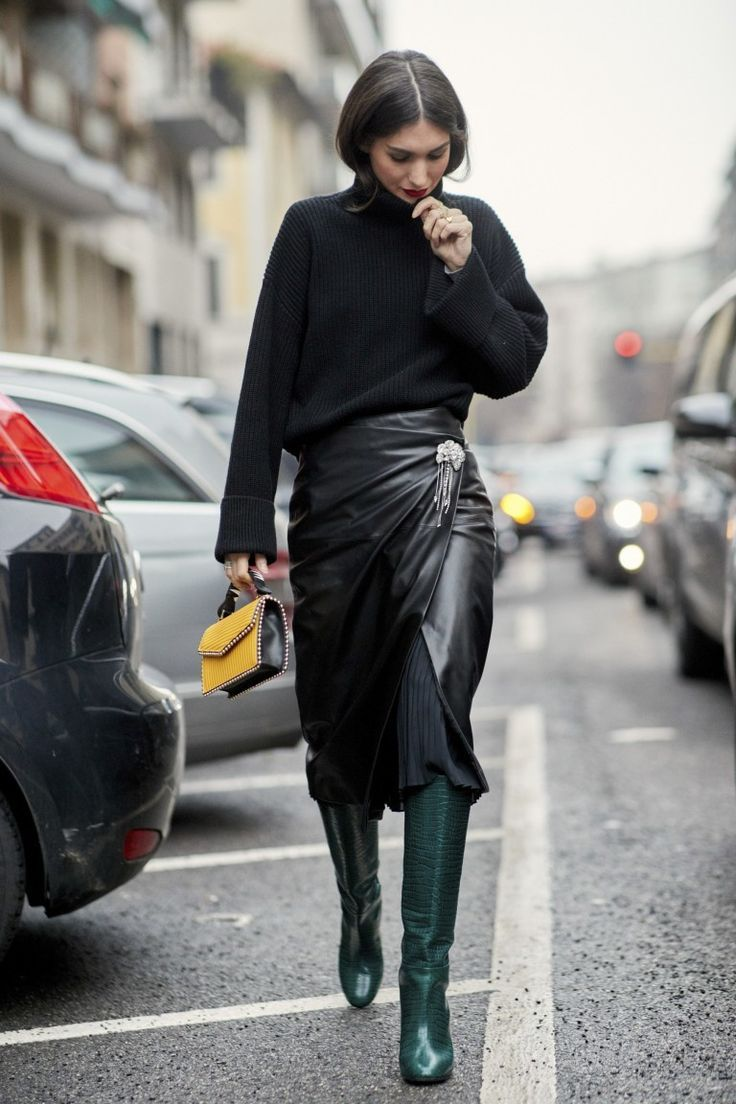 Best Street Style Looks from MFW Autumn 2018