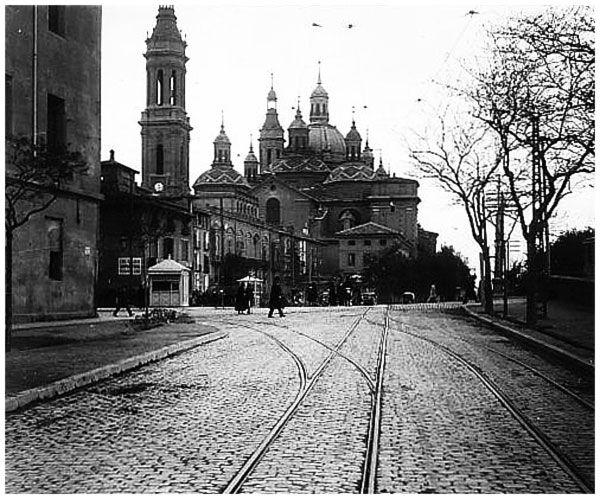 Fotos antiguas de Zaragoza-Rafael Castillejo-Zaragoza