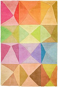 Doug and Gene Meyer rugs | Try-Angular Hand knotted | GoodWeave Certified child-labor-free