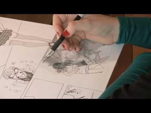 Canson® présente : Réaliser une planche de Manga avec S. Jager