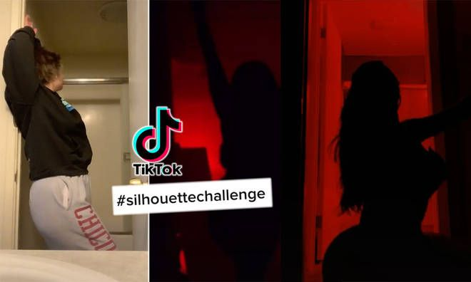 The Silhouette Challenge How To Do The Viral Tiktok Trend What Songs Are Used Capital In 2021 Songs Challenges Silhouette