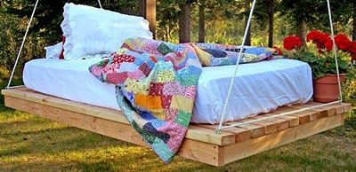 this is amazing DIY bed hang it from a tree or hang them in your house for your children