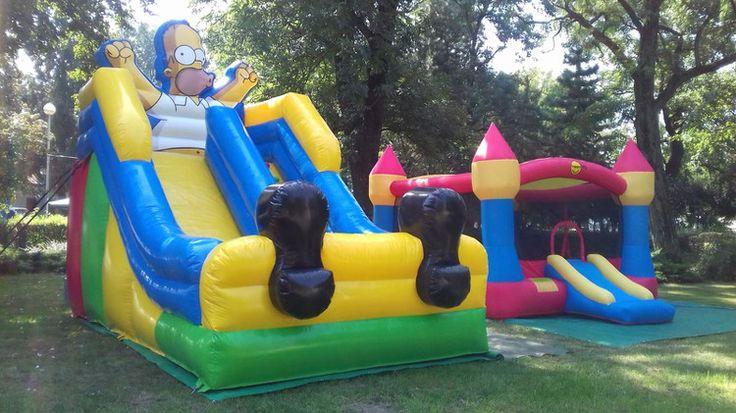 Detské nafukovacie hrady, atrakcie, skákacie hrady, hry na prenájom