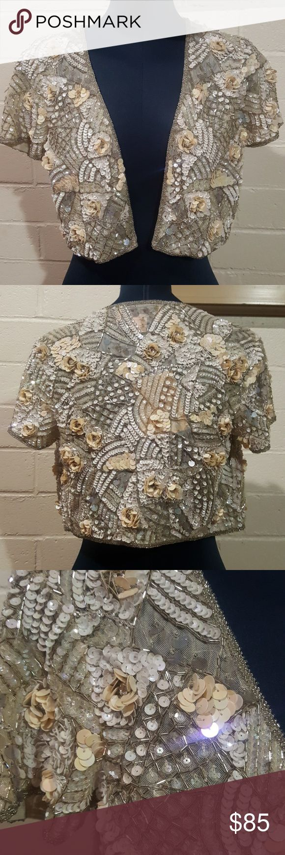 🔥HOT NWT! Miss Selfridge Antonia Bolero Brand new with tags! Show off your opulent style with this lovely bolero! Whether it's worn over a simple dress or black trousers, this is a statement piece that is sure to turn heads!  *Last few pics aren't of the item and just show suggested styling. Miss Selfridge Tops
