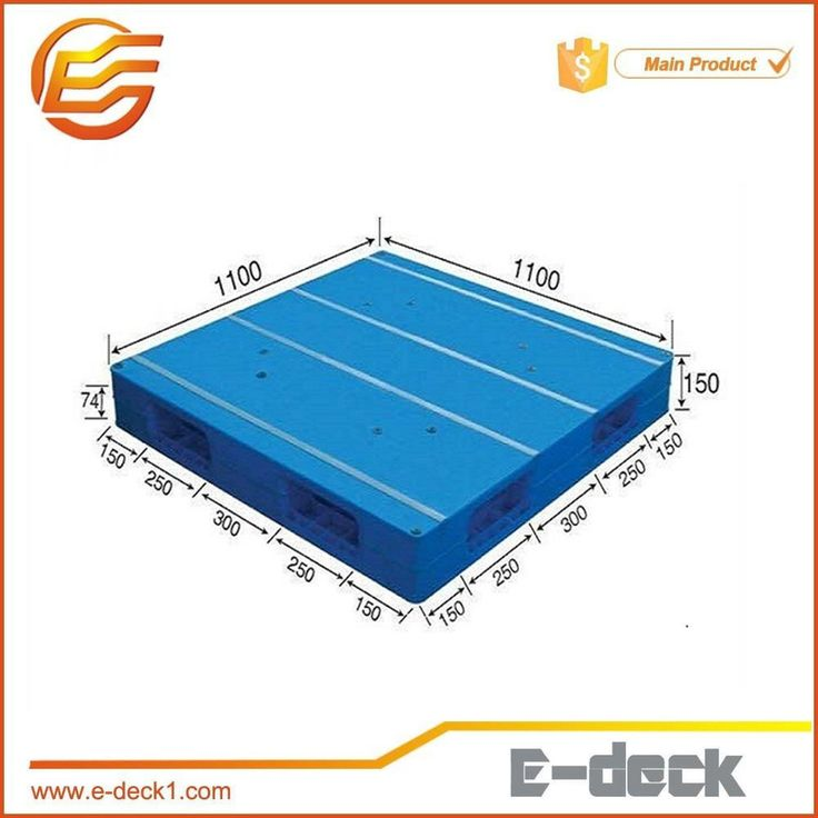 Double faced large size plastic pallet manufacturer cheap plastic pallet size