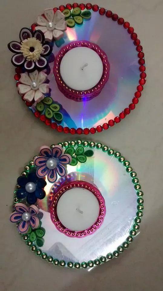 1000 ideas about diwali craft on pinterest diwali for Art and craft diya decoration