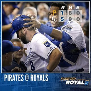 Eric Hosmer and Mike Moustakas back a solid Edinson Volquez to top the Pirates. #ForeverRoyal | royals.com