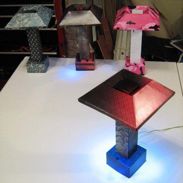 How to Make Creative DIY Paper Craft Lamp Easily