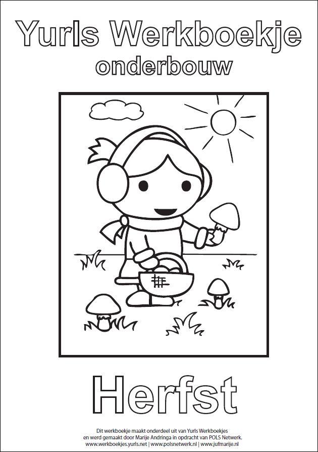Yurls werkboekje herfst