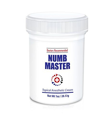 Numb Master 5% Topical Anesthetic Lidocaine Cream 1 Oz, Made in USA, Fast Penetration, Liposmal lidocaine, Non-oily Hansderma http://www.amazon.com/dp/B00O133T00/ref=cm_sw_r_pi_dp_hrwWub1SXAC4Q