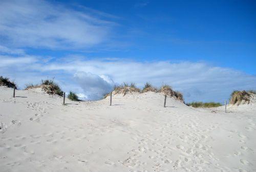 Sand Dune, Warnemunde, Germany along the Baltic Coast