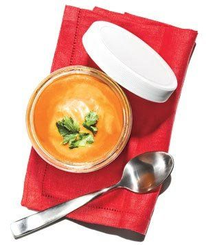 Curried Tomato Bisque | Dinnertime is twice as nice with these recipes that make just two servings.