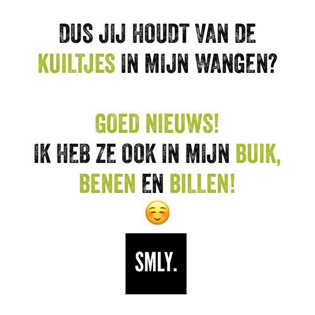 #SMLY Kuiltjes 😂