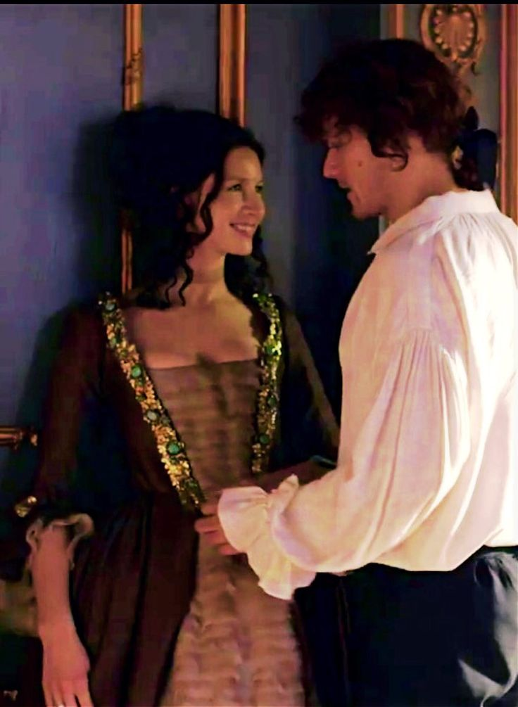 Outlander Season 2, Jamie and Claire, EW shoot, Sam Heughan Caitriona Balfe