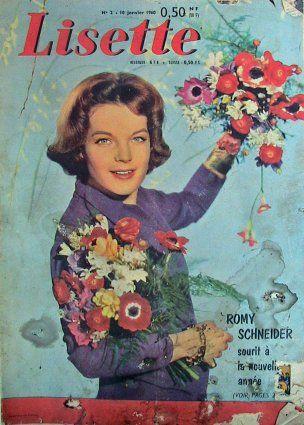 Romy couverture Lisette 1960   Romy schneider, Romy ...