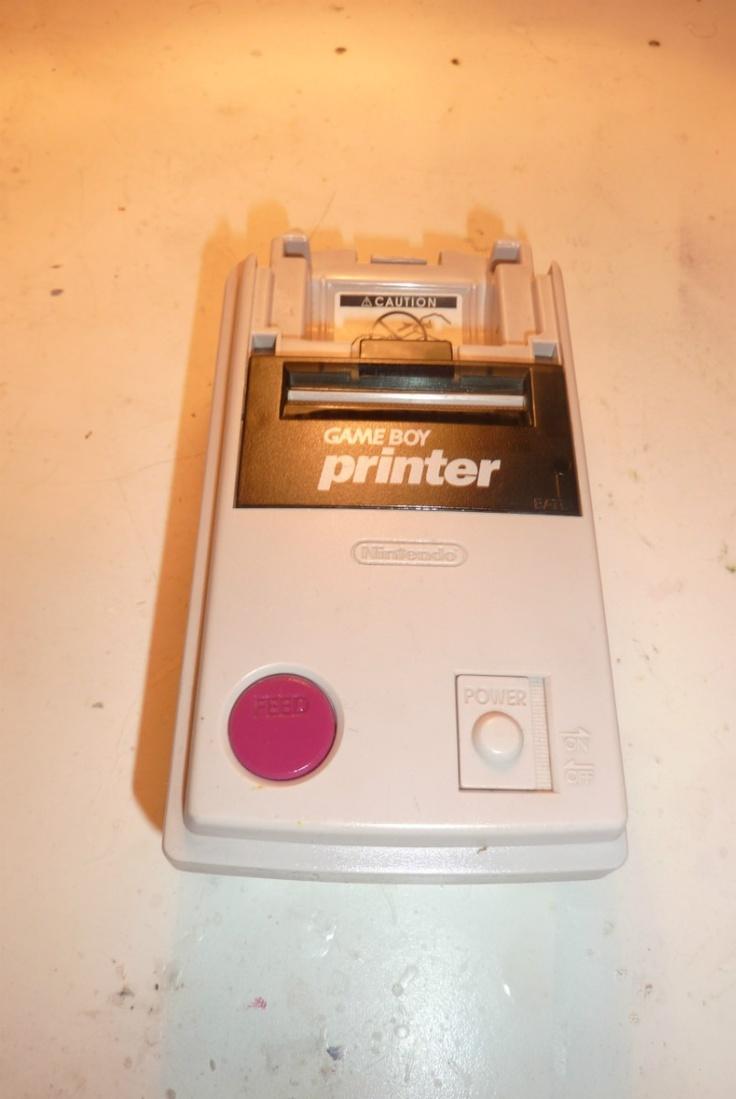 Gameboy Printer Impresora Nintendo Gameboy Unica En Ml!!